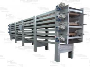 Транспортеры сушильные какие силы влияют на подъем продукта винтовым конвейером в вертикальной плоскости